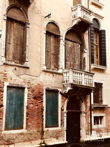 Photograph - Old World Windows by Christine Chin-Fook