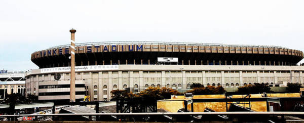 Photograph - Old Yankee Stadium by Jose Rojas