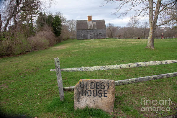 Photograph - Oldest House by Ruth H Curtis