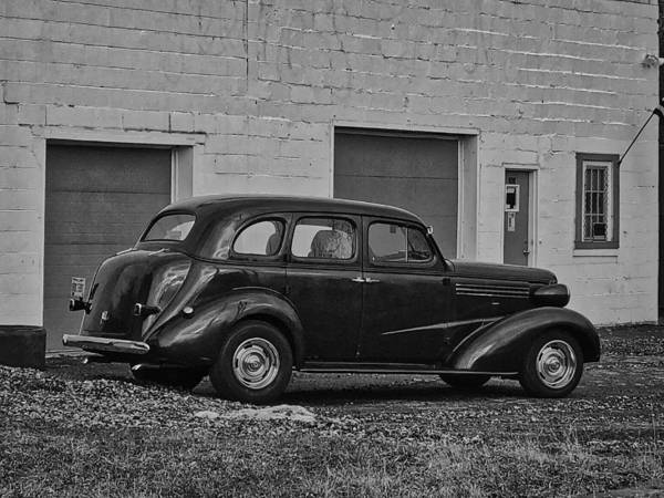 Photograph - Oldie Getaway Car by Jack Wilson