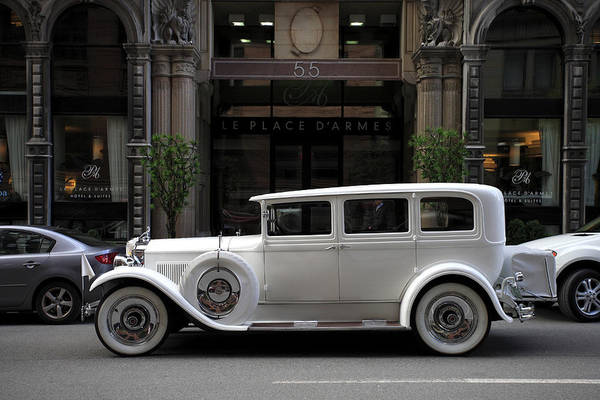 Quebec City Photograph - Oldtimer In Old Montreal, Montreal by Guenther Schwermer / Look-foto