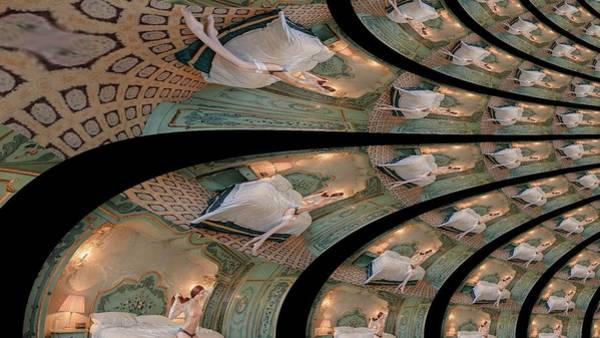 Digital Art - Olive Ballerina by Stephane Poirier