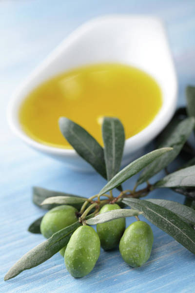 Close Up Photograph - Olive Oil by Lilyana Vinogradova