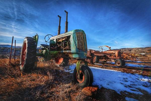 Old Farm Equipment Photograph - Oliver And Company by Christopher Thomas