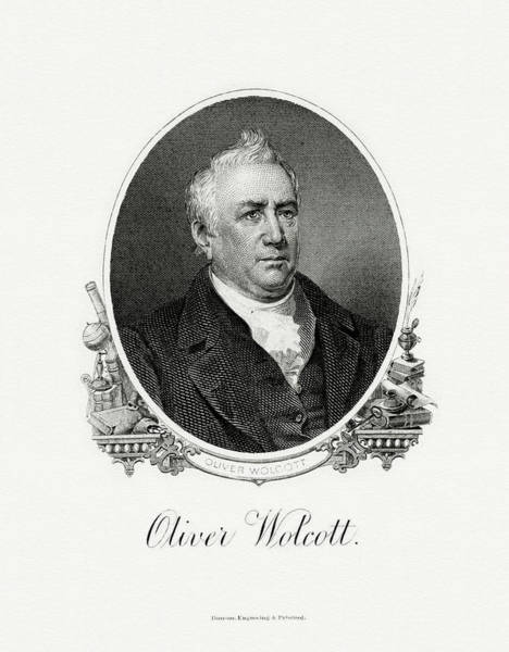 Matter Painting - Oliver Wolcott, Jr by The Bureau of Engraving and Printing