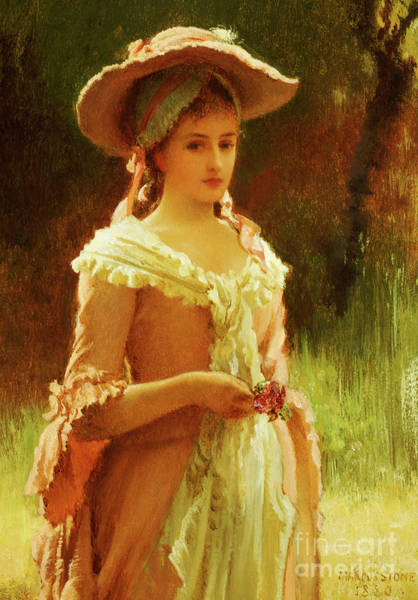 Wall Art - Painting - Olivia, 1880 by Marcus Stone