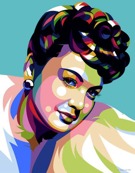 Pop Star Digital Art - Olivia De Haviland by Stars-on- Art