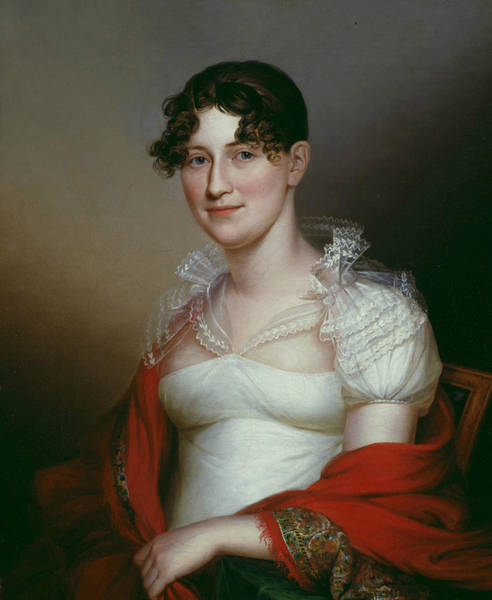 Wall Art - Painting - Olivia Simes Morris by James Peale