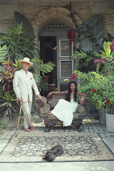 Hat Photograph - Olivier Coquelin by Slim Aarons