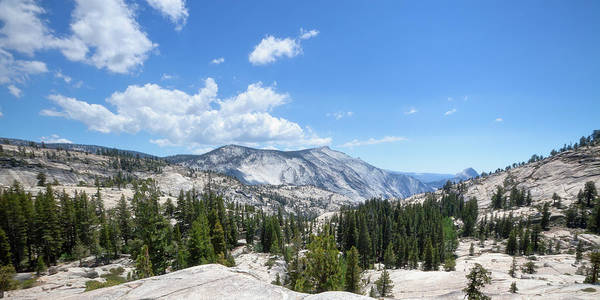 Tioga Photograph - Olmsted Point Landscape by Lordrunar
