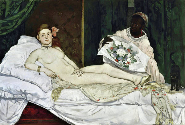 Wall Art - Painting - Olympia - Digital Remastered Edition by Edouard Manet