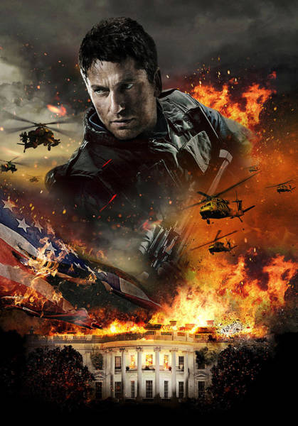 Wall Art - Digital Art - Olympus Has Fallen by Geek N Rock