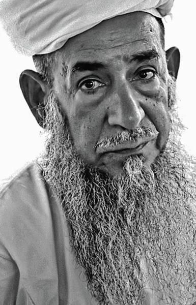 Photograph - Omani Knife Maker by Bill Jonscher