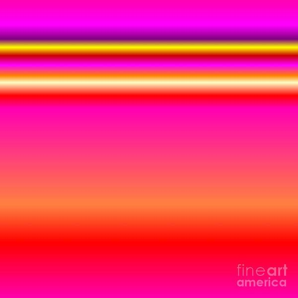 Digital Art - Ombre Horizon Pink Red Purple Yellow Digital Art by Rose Santuci-Sofranko