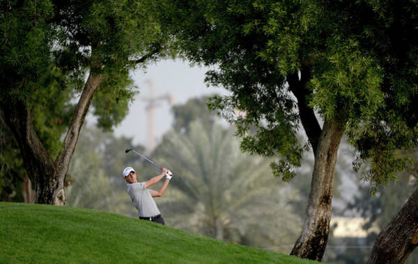 Photograph - Omega Dubai Desert Classic - Day One by Ross Kinnaird