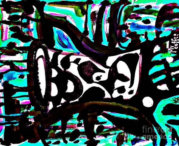 Painting - Ominous Mug-3 by Katerina Stamatelos