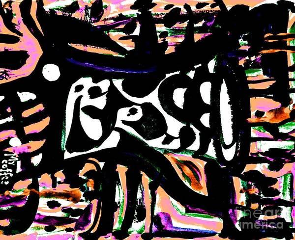 Painting - Ominous Mug-5 by Katerina Stamatelos