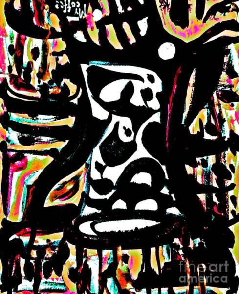 Painting - Ominous Mug-7 by Katerina Stamatelos