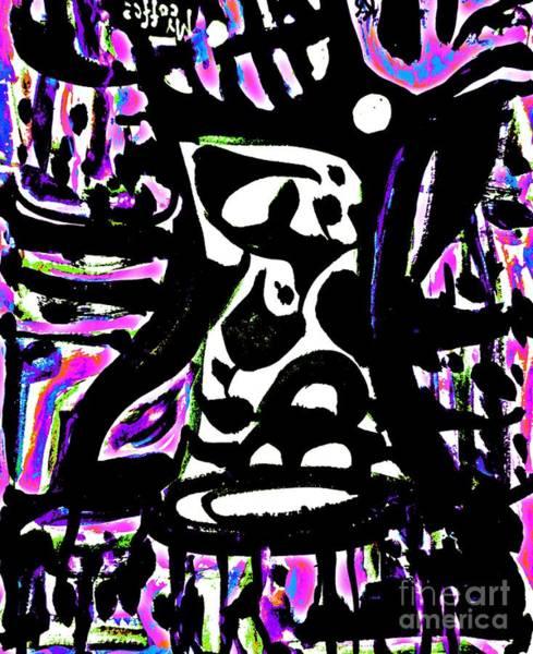 Painting - Ominous Mug-8 by Katerina Stamatelos