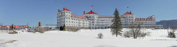 Wall Art - Photograph - Omni Mount Washington Resort by Edward Fielding