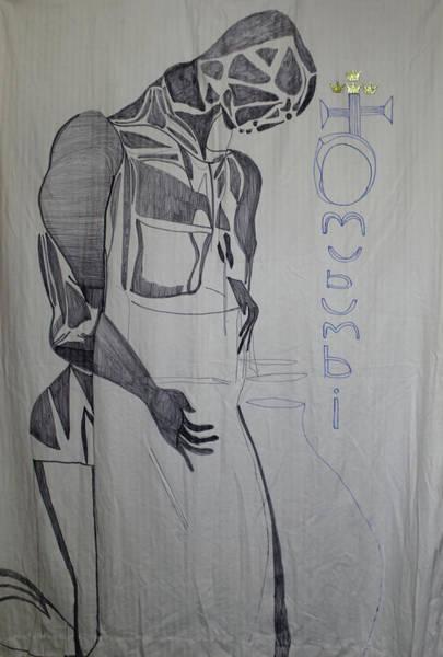 Painting - Omubumbi Jesus Christ The Potter by Gloria Ssali