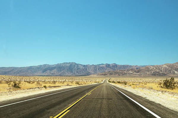 Photograph - On A Dark Desert Highway  I by Peter Tellone
