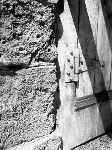 Hinges Photograph - On A Hinge by Glenn McCarthy Art and Photography