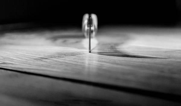 Photograph - On A Knife Edge by John Dakin