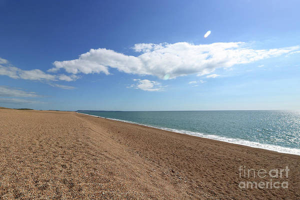 Photograph - On Chesil Beach by Julia Gavin