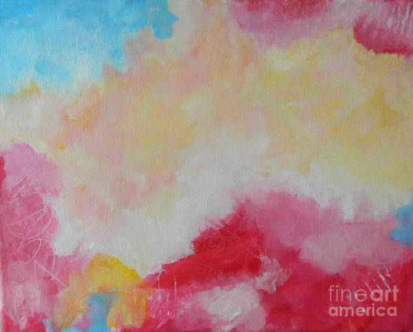 Wall Art - Painting - On Cloud Nine by Kate Marion Lapierre