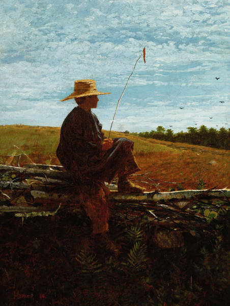 Wall Art - Painting - On Guard, 1864 by Winslow Homer