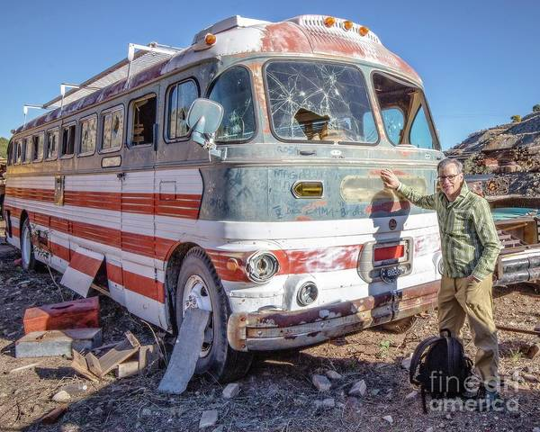Photograph - On Location Photographer Edward Fielding In Jerome Arizona by Wendy Fielding