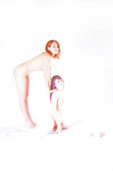 Photograph - On My Shoulder by Robert WK Clark
