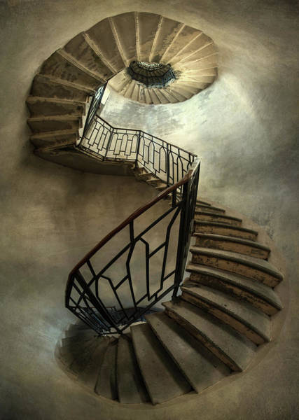 Wall Art - Photograph - An Old Staircase by Jaroslaw Blaminsky