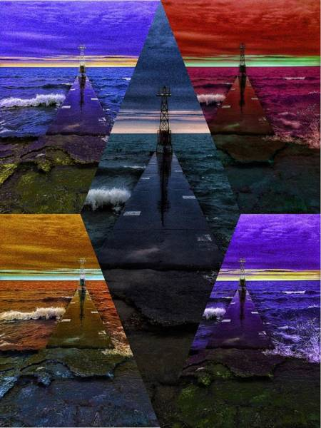 Digital Art - On Point by Nick Heap