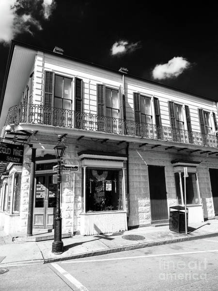 Photograph - On Rue Dauphine In New Orleans by John Rizzuto