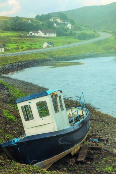 Photograph - On The Misty Scottish Shoreline by Debra and Dave Vanderlaan