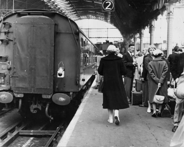1961 Photograph - On The Platform by Keystone