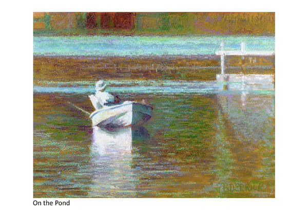 Painting - On The Pond by Betsy Derrick