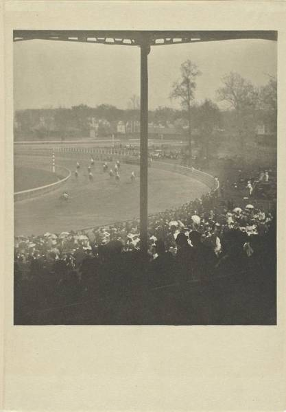 Wall Art - Painting - On The Racecourse, Alfred Stieglitz, 1904 by Alfred Stieglitz