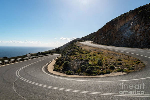 Photograph - On The Road In Crete, Greece by Didier Marti