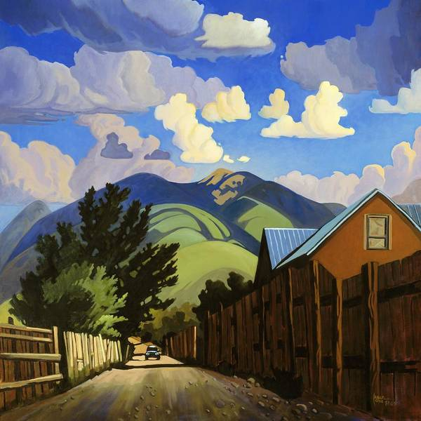 Painting - On The Road To Lili's by Art West
