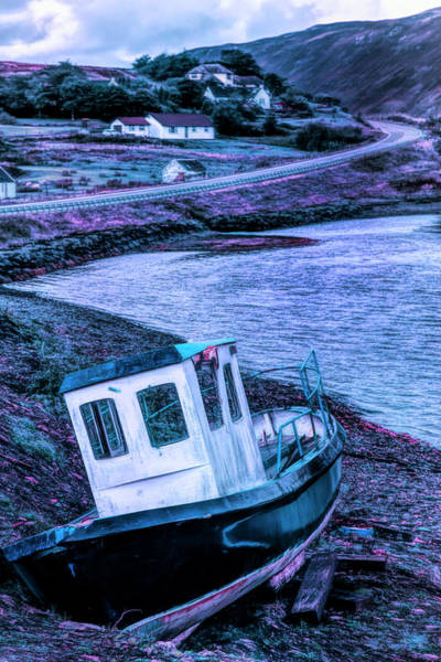 Photograph - On The Scottish Shoreline At Evening by Debra and Dave Vanderlaan