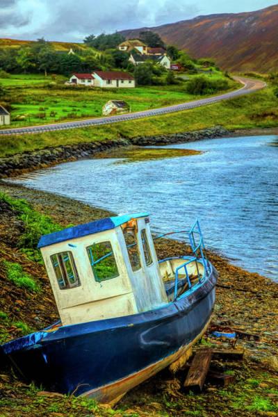 Photograph - On The Scottish Shoreline by Debra and Dave Vanderlaan