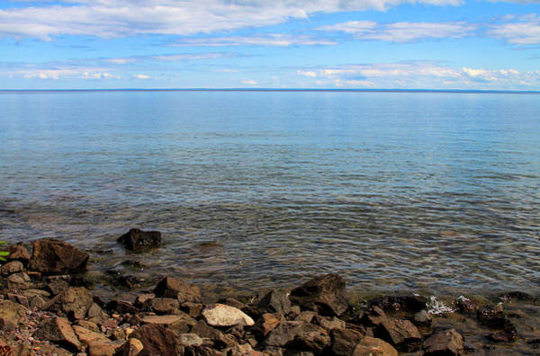 Photograph - On The Shores Of Lake Superior by Bonnie Follett