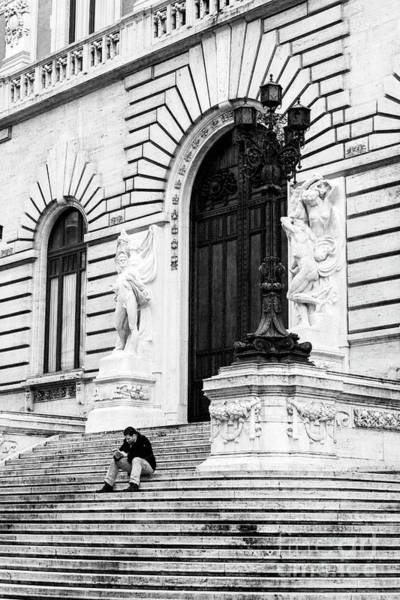 Photograph - On The Steps In Rome by John Rizzuto