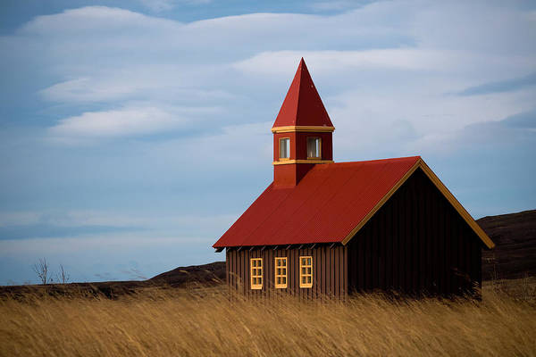 Reykjavik Photograph - On The Way To Church by Snorri Saevarsson