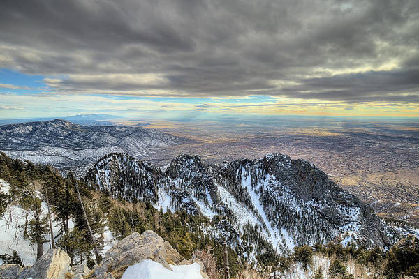 Photograph - On Top Of The World Sandia Peak by JC Findley