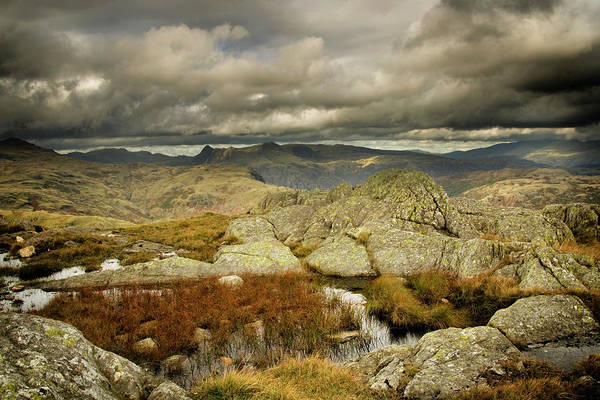 Wall Art - Photograph - On Wetherlam by Michael Honor
