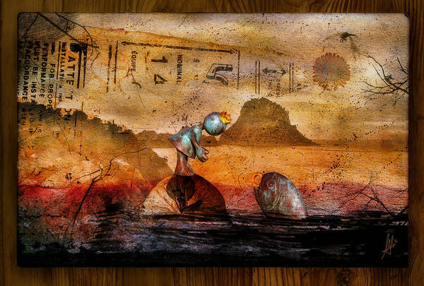 Surreal Landscape Wall Art - Digital Art - Once Upon A Time by Mario Sanchez Nevado